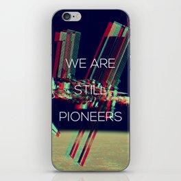 Pioneers iPhone Skin