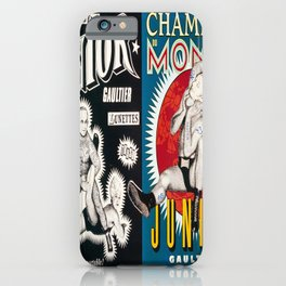 Plakat lunettes junior gaultier par jean iPhone Case