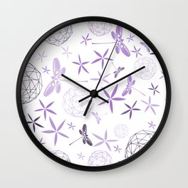 CN DRAGONFLY 1009 Wall Clock