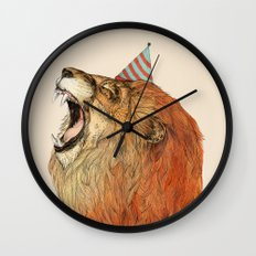 Birthday Lion Wall Clock