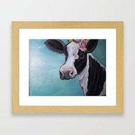 The Dairy Queen Framed Art Print