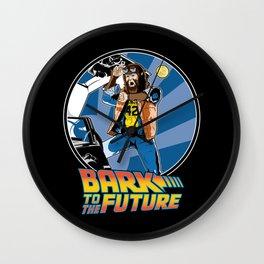 Bark to the Future Wall Clock