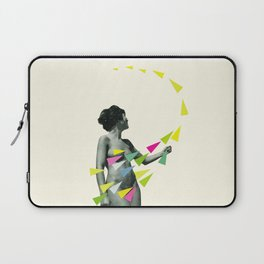 She's a Whirlwind Laptop Sleeve