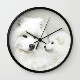 """ Together As One "" Wall Clock"