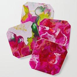Inviting iris Coaster