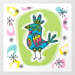 Bird Life - Simon Art Print