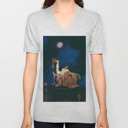 Princess And The Troll Unisex V-Neck