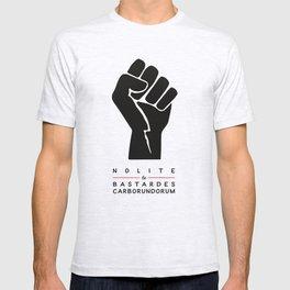 Nolite te bastardes carborundorum (white) T-shirt