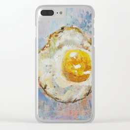 Eggy Clear iPhone Case