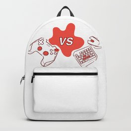 Consoles vs pc games Backpack