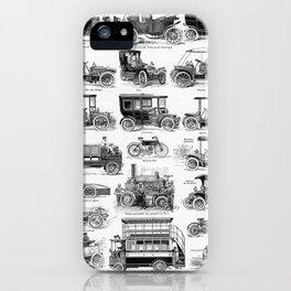 Vintage Automobiles iPhone Case