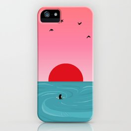 Tempus fugit iPhone Case