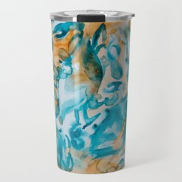 Blue Crabs Together 2 Travel Mug
