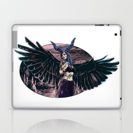 Riae Suicide Vector Illustration Laptop & iPad Skin
