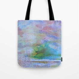 Words and Water Paint 3 Tote Bag