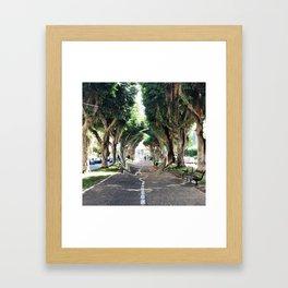 glllitched_september Framed Art Print