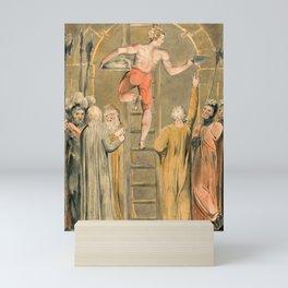 "William Blake ""Sealing the Stone and Setting a Watch"" Mini Art Print"