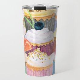 Cupcake Cluster Travel Mug