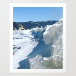 Bolinas Wave Art Print