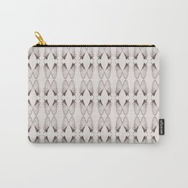 Cicada Pattern Vintage look Carry-All Pouch