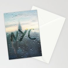 Rainy Day in NYC Stationery Cards