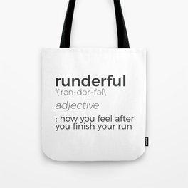 Adrenaline Rush Runner's High Running Is Life Run Design Tote Bag
