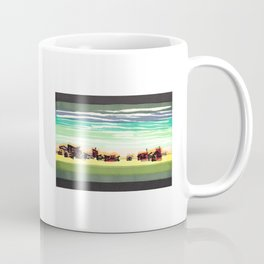 Railroad Town In The West Plains Of Nebraska 32 Coffee Mug