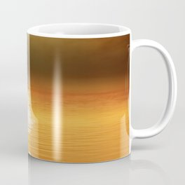 Danube Sunset//Dust Coffee Mug