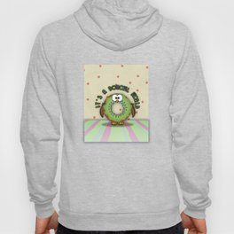 it's a donowl world with kiwi flavor Hoody