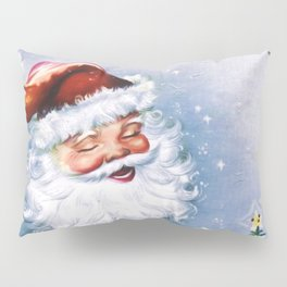 Santa Claus with christmas trees Pillow Sham