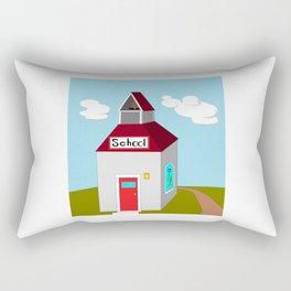 The Ole School House Rectangular Pillow