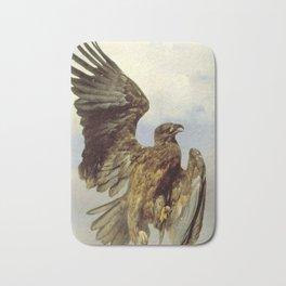 Rosa Bonheur - The Wounded Eagle Bath Mat