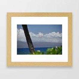 Parasailing in Maui Framed Art Print