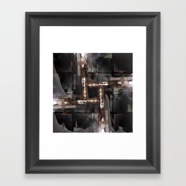 Lots enraged, nary ordinated. Framed Art Print