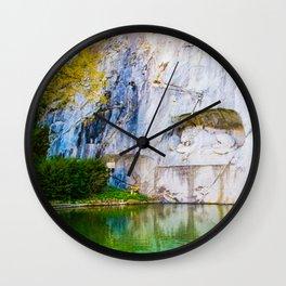 The Fallen Lion Wall Clock