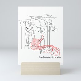 Chant des sirenes Mini Art Print