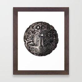 Helvegr Viking Coin Framed Art Print