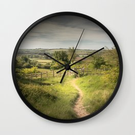 Path to the Wolds Wall Clock