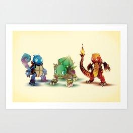 Pick One Art Print