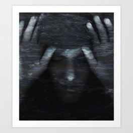 tranquil tides Art Print