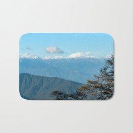Bhutan: Sunset on Himalaya Bath Mat