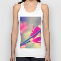 tulips Tank Tops featuring tulips by Falko Follert Art-FF77