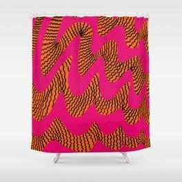Tiger Stripe Shower Curtain