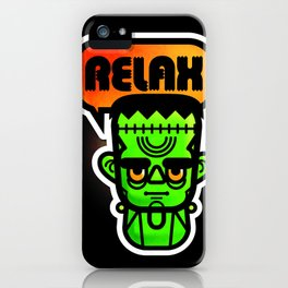 Frankie Says Relax iPhone Case