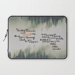Little Bunny Carrot Laptop Sleeve