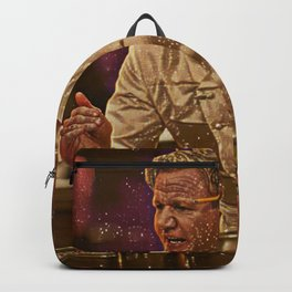 Gordon Ramsay Artistic Illustration Sparkle Style Backpack