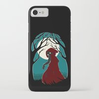red riding hood iPhone & iPod Cases featuring Red Riding Hood 2 by Freeminds