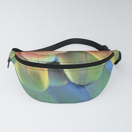 Parrot Feathers Fanny Pack