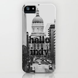 Hello Indy iPhone Case