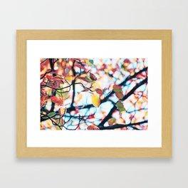 Happy Autumn Colors Framed Art Print